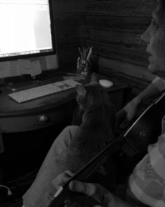 """Read more about the article """"The Cat Who Wanted To Play The Guitar"""" ~ a short poem ~ Katrina Curtiss 4/2/2020"""
