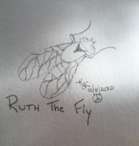 The Fly That Ruth Sent ~ by Katrina Curtiss 10/8/2020