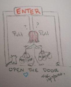 Open The Door ~ A Christmas Wish ~ Katrina Curtiss 12/17/2020
