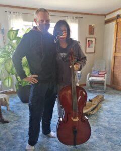 The Christmas Cello ~ Katrina Curtiss 12/24/2020