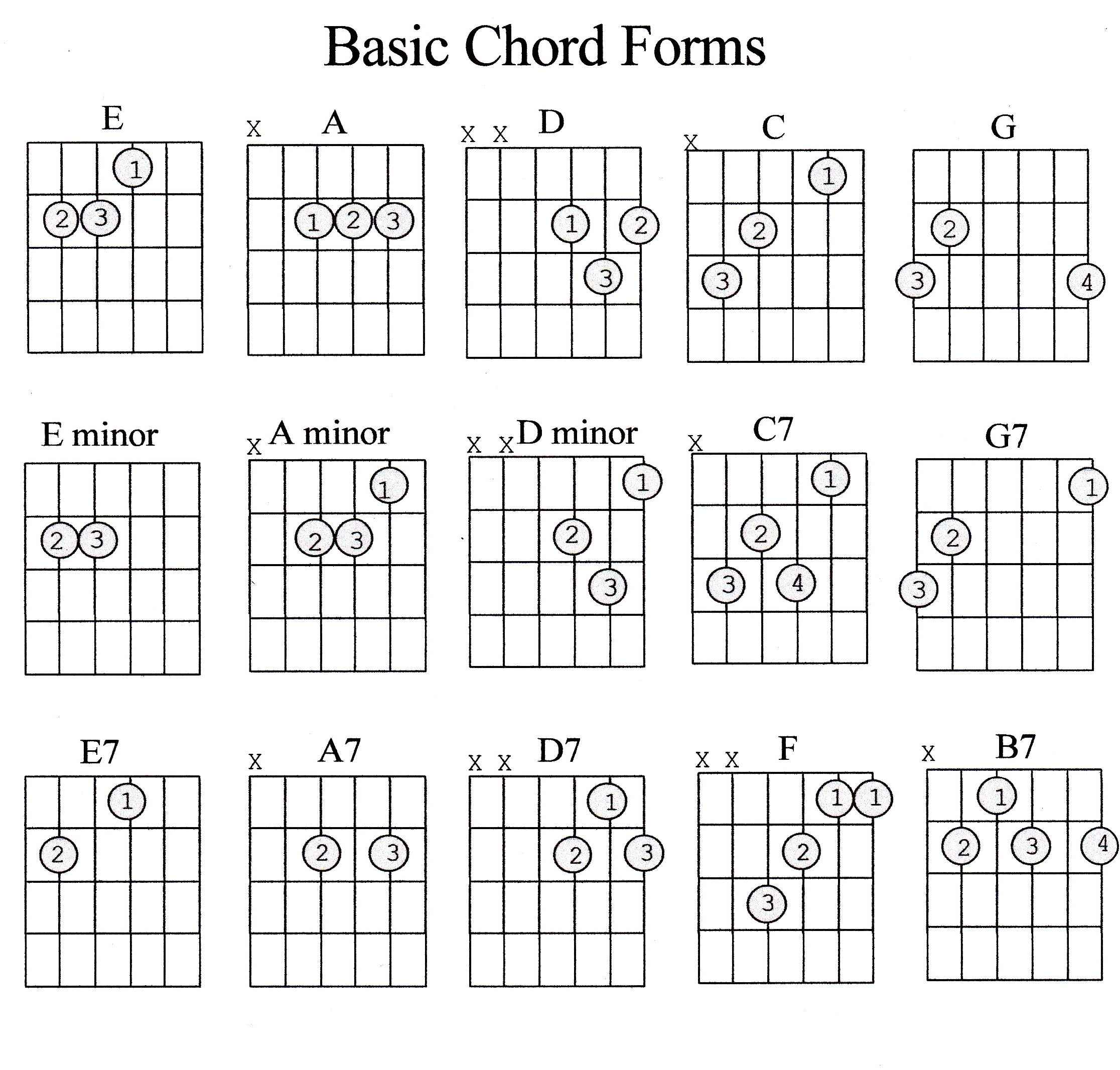 Guitar Theory ~ Musical Alphabet/Chromatic Scale/Chords