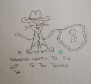 My Cat Wants To Go To The Rodeo ~ Katrina Curtiss 2/9/2021