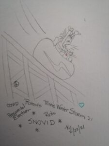 Snovid And Stuff ~ Katrina Curtiss ~ 2/22/21