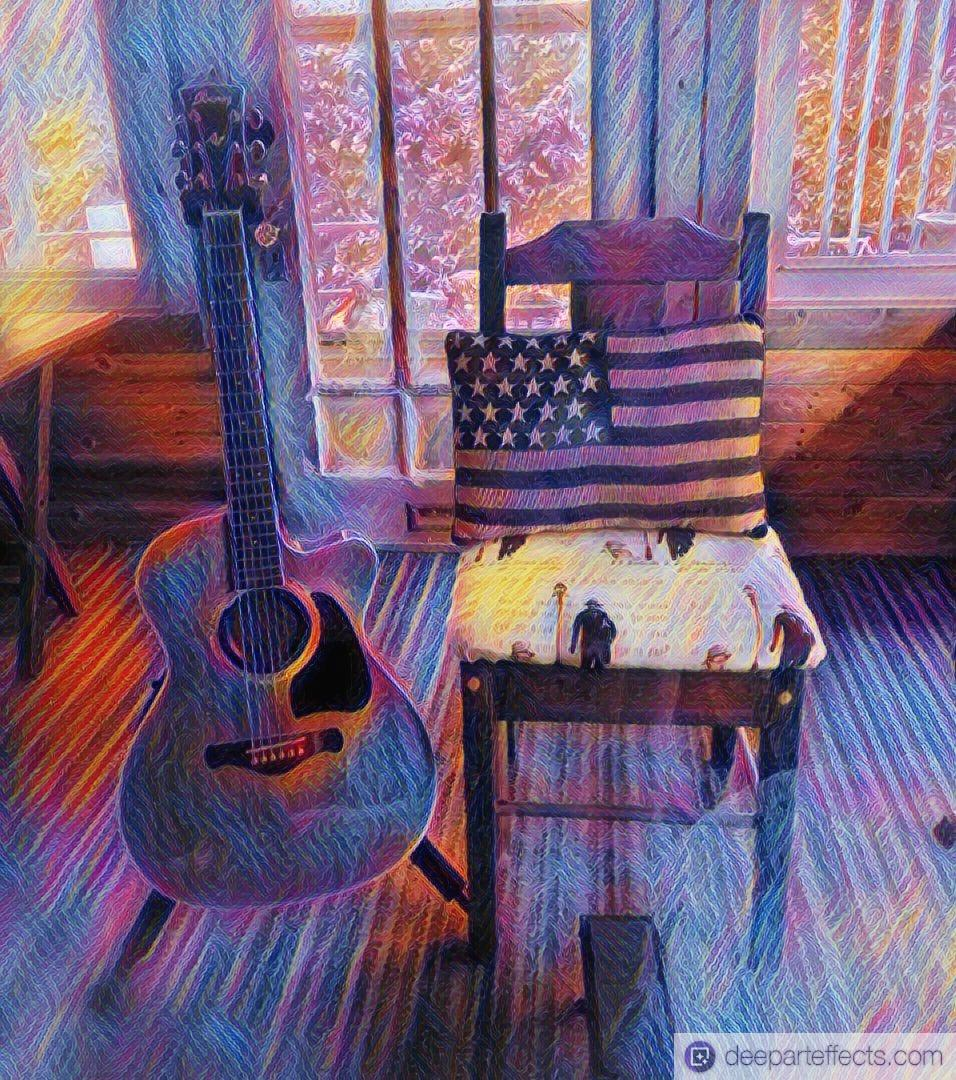 """Memorial Day Tribute """"The Fallen Fighter"""" ~ by Katrina Curtiss 5.30.21"""