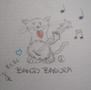 Banjo Basura © ~ Katrina Curtiss 8.1.21